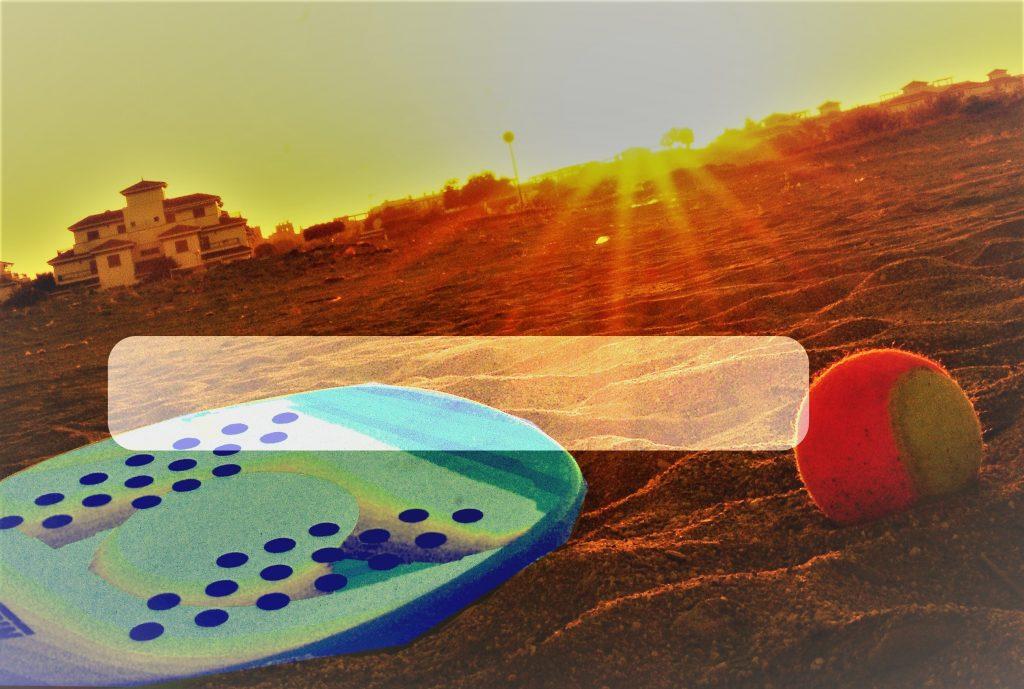 Tenis Playa en Vera!